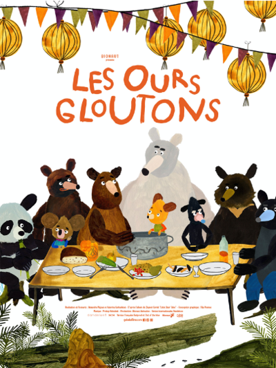 1,2,3 CINE: LES OURS GLOUTONS