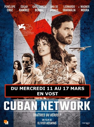 LES  FILMS ART & ESSAI DE MARS (en Vost):CUBAN NETWORK et LE CAS RICHARD JEWELL