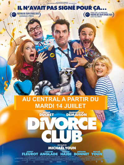 DIVORCE CLUB : A PARTIR DU MARDI 14 JUIILET